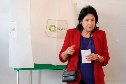 Кандидатці у президенти Грузії присилають погрози, – ЗМІ