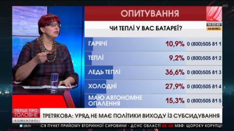 Уряд не має стратегії виходу з політики субсидування, – Галина Третьякова