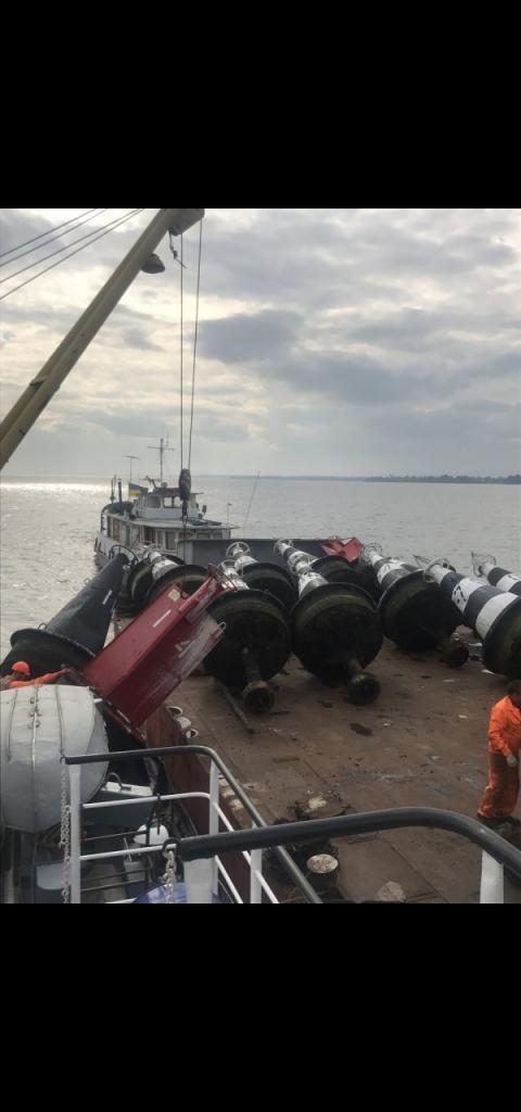 Триває зняття навігаційної обстановки на р. Дніпро