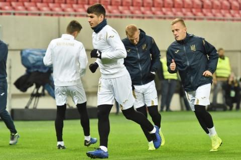 Збірна України з футболу у Трнаві провела передматчеве тренування