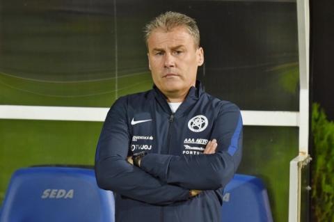 Тренер збірної Словаччини: Вірю, що у грі з Україною ми можемо досягти успіху