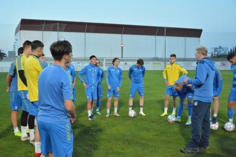 Збірна України U-18 з футболу проведе в Іспанії два матчі з командою Данії