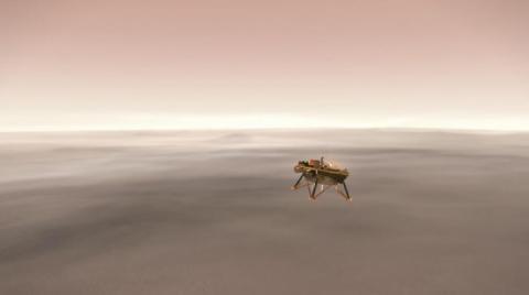 Уперше за шість років нова місія NASA висадиться на Марсі