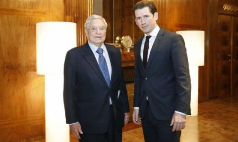 Сорос і канцлер Австрії обговорили витіснення ЦЄУ з Угорщини