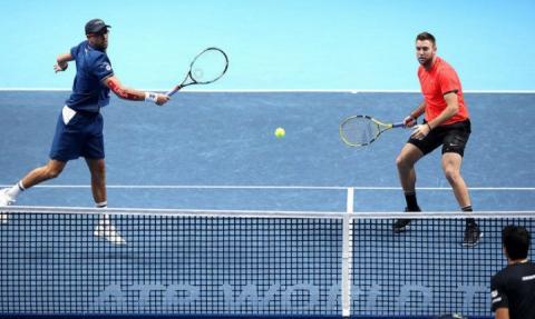 Американці Брайан і Сок виграли в парі Підсумковий тенісний турнір АТР-2018