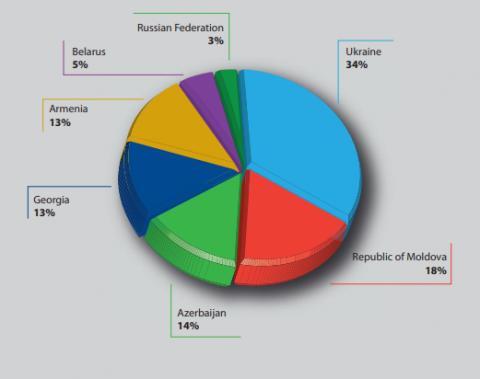 Україна торік була найбільшим отримувачем коштів за проектами Ради Європи