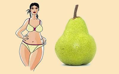 Науковці заявили, що люди з «грушоподібною» фігурою більш здорові