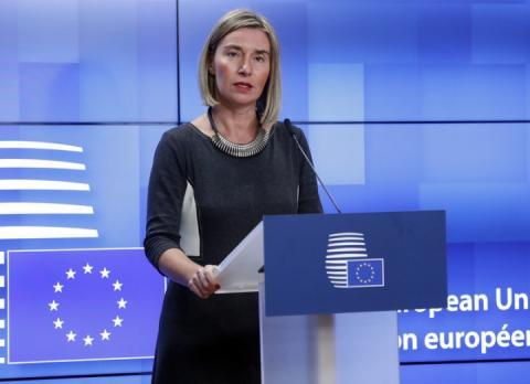 В ЄС обговорюють введення нових санкцій проти Росії, – Могеріні