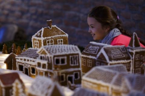 В Угорщині відтворили з пряників справжнє різдвяне поселення