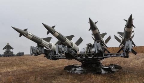 Військові перевірили ракетний комплекс С-125, для оборони від нападів з моря