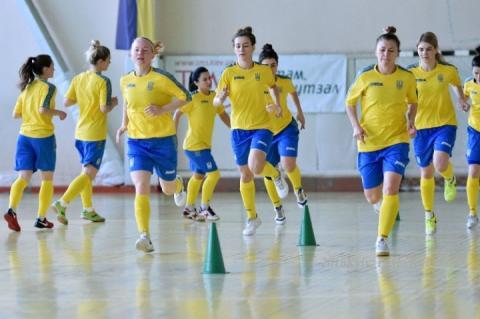 Названо склад жіночої збірної України з футзалу на матчі з Словаччиною
