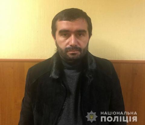 Столична поліція депортувала з Києва «злодія в законі» Нукрі Гальського