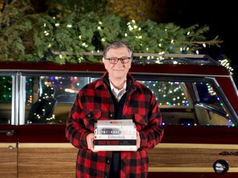 Білл Гейтс оприлюднив свій власний рейтинг найкращих книг 2018 року