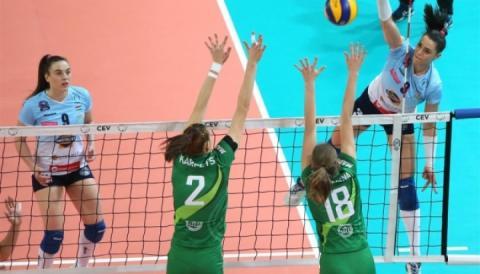 Волейболістки «Хіміка» з Южне не пробилися до 1/8 фіналу Кубку ЄКВ-18/19