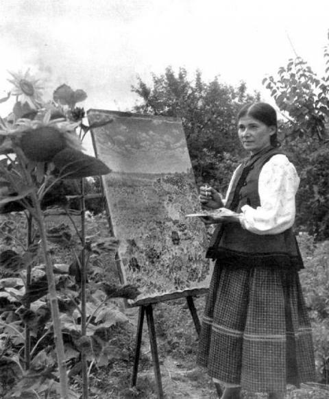 У цей день, 118 років тому, народилася самобутня українська художниця Катерина Білокур