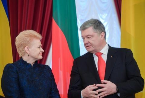 Керченська криза: Порошенко й Грібаускайте домовилися діяти спільно