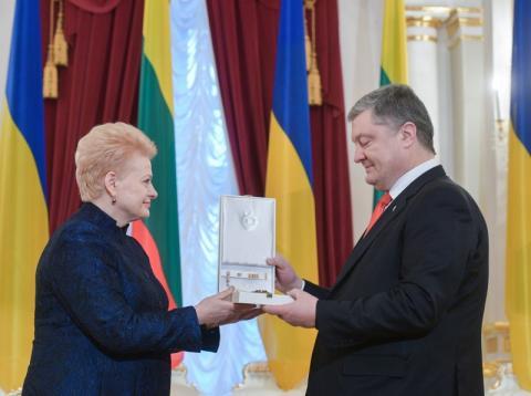 Президента України нагороджено литовським орденом Вітовта Великого