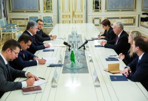 Президент України прийняв Сенатора США Рональда Джонсона