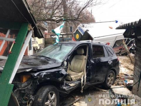 """У Житомирі сталася ДТП за участі """"швидкої"""": 7 травмованих"""