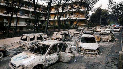 Лісові пожежі в Греції: кількість загиблих зросла до 100
