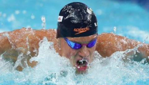 Михайло Романчук з кращим часом пробився у фінал зимового ЧС-2018 з плавання