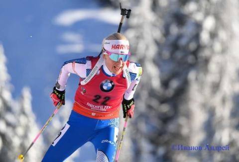 Фінка Кайса Макаряйнен виграла персьют на другому етапі КС-18/19 з біатлону