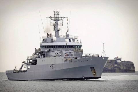 Азовська криза: перший військовий корабель країн НАТО ввійшов в Чорне море