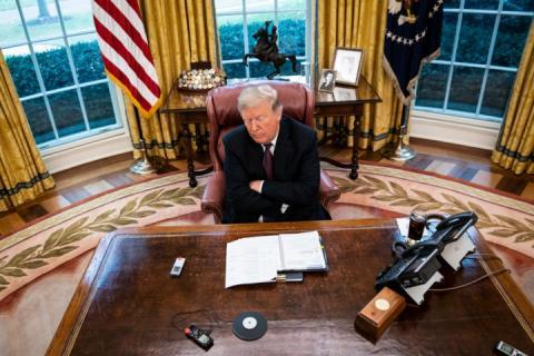 Трамп виступив з відеозверненням щодо виведення військ США з Сирії