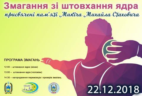У Львові сьогодні відбудеться Меморіал Михайла Микіча зі штовхання ядра