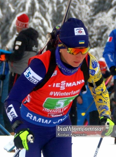 Біатлоністка Віта Семеренко: Час настав і ми вже можемо боротися за високі місця