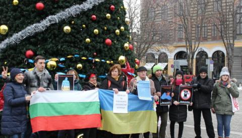 У Болгарії поліція перешкодила акції на підтримку полонених українських моряків