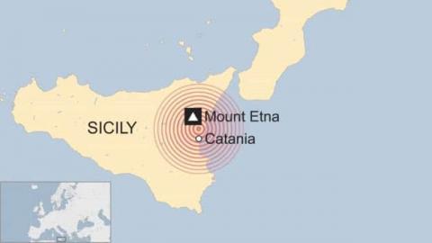 На півдні Італії стався землетрус магнітудою 4,8