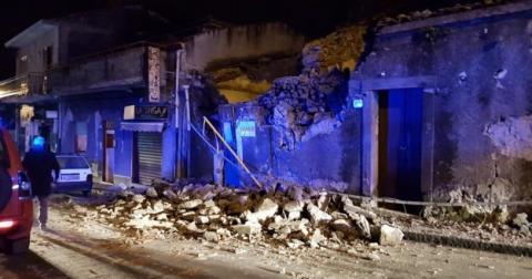 Пробудження Етни: на Сицилії стався землетрус, є постраждалі і руйнування