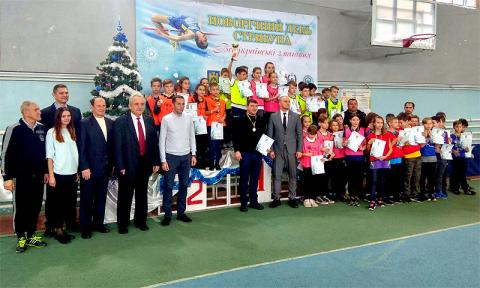 У Львові відбувся новорічний Всеукраїнський турнір «Новорічний День стрибуна»