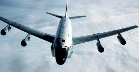 Американський розвідувальний літак почав патрулювання окупованого Криму