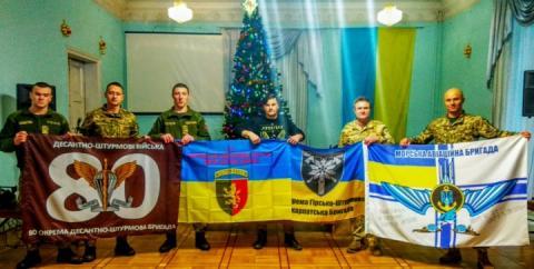 На станцію «Академік Вернадський» відправлять прапори бригад Збройних сил