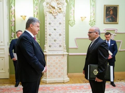 Президент України прийняв вірчі грамоти у послів низки іноземних держав