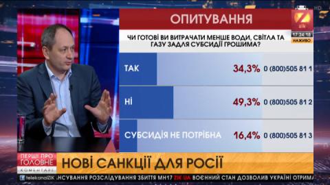 Міністр Черниш оголосив головні «маркери» нових санкцій проти Росії