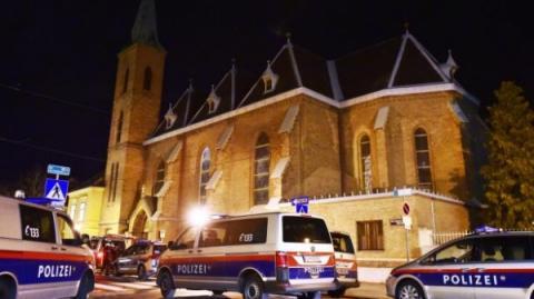 Напад на костел у Відні: постраждало 5 ченців