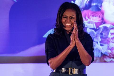 Клінтон вже не перша: у 2018 році Штати найбільше обожнювали Мішель Обаму