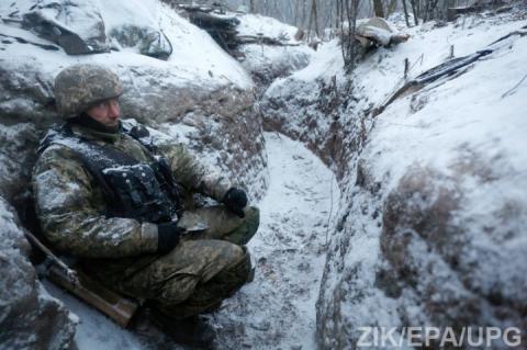 Від сьогодні Україна оголосила новорічну «тишу» на Донбасі