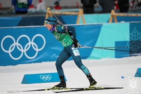 Біатлоністка Юлія Джима – найкраща спортсменка грудня в Україні