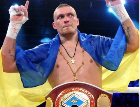 Олександр Усик – кращий боксер світу 2018 року за версією The Ring