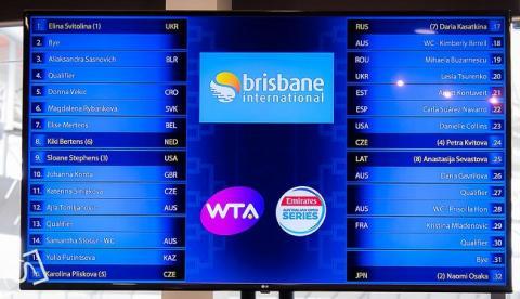 Еліна Світоліна очолила посів тенісного турніру WTA Premier у Брісбені