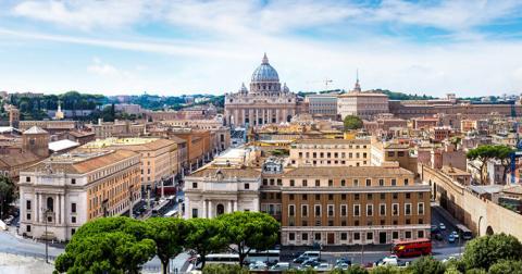 У Римі заборонили в'їзд у центр автобусам з туристами