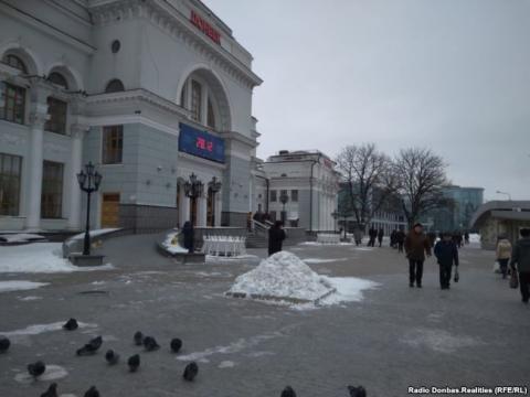 В мережі показали передноворічний «ажіотаж» в Донецьку