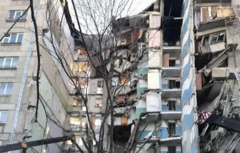 У російському Магнітогорську обвалився під'їзд, є жертви