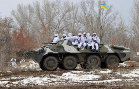 У зоні ООС бойовики два рази порушували режим припинення вогню