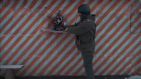 «Поки ми тут, будуйте Україну!»: Військові зі Сходу привітали українців з Новим роком