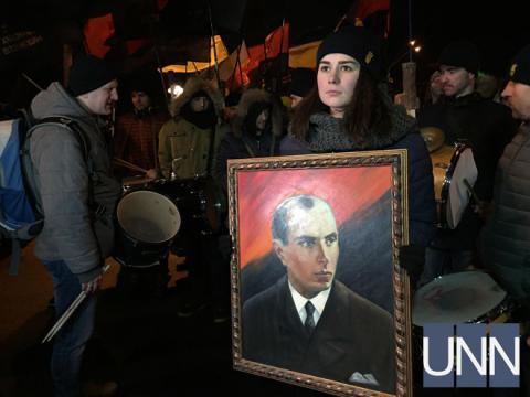 У Києві завершилася хода до річниці з дня народження Бандери